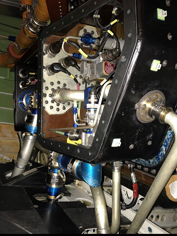 Aviation Fuel Leak Repair