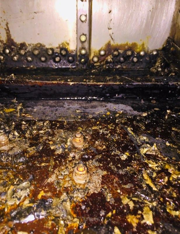 Boeing Fuel Leak Repair
