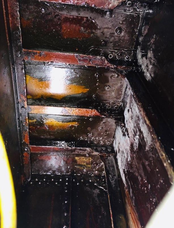 Bombardier Fuel Leak Repair