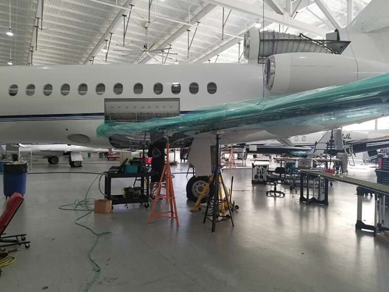 Aircraft Fuel Tank Leak Repair