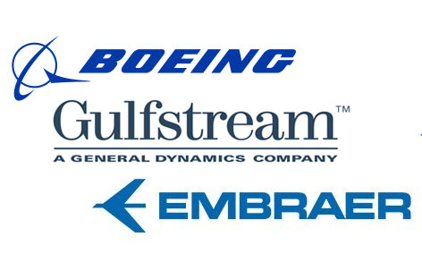 Aircraft Customer Logos
